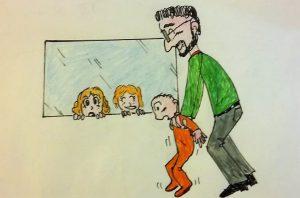 Disegno bambino per Osteopata